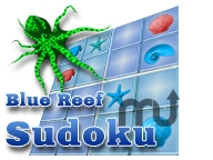 Screenshot 1 for Blue Reef Sudoku