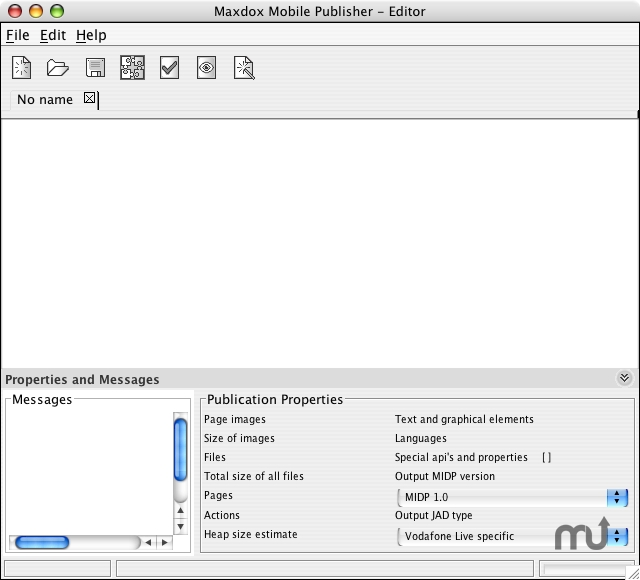 Screenshot 1 for Maxdox Mobile Publisher