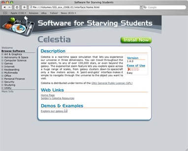 Screenshot 2 for Software for Starving Students