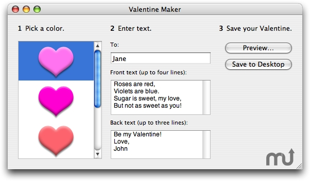 Screenshot 1 for Valentine Maker