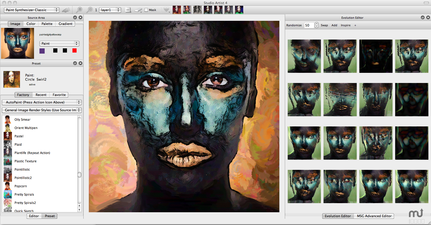 Screenshot 1 for Studio Artist
