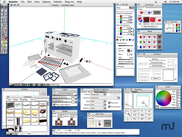 Microspot modeler 3 6 free download for mac macupdate for Software para hacer muebles