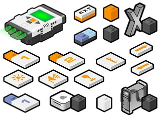 Screenshot 1 for NXT LEGO icons