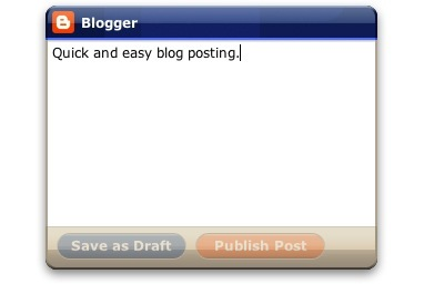 Screenshot 2 for Google Blogger