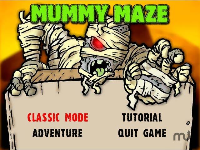 Screenshot 1 for Mummy Maze Deluxe