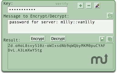 Screenshot 1 for encryptadoro