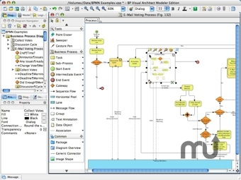 Screenshot 1 for Business Process Visual ARCHITECT
