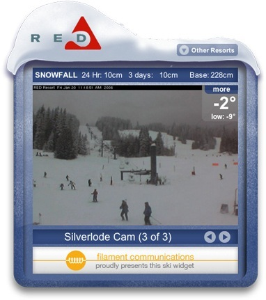 Screenshot 2 for Ski Conditions Widget