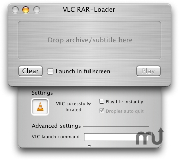 Screenshot 1 for VLC RAR-Loader