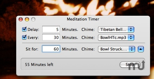 Screenshot 1 for Meditation Timer