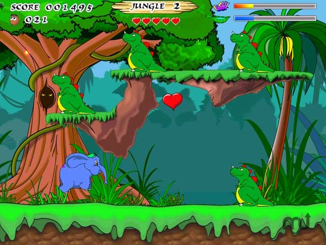 Screenshot 1 for Jungle Heart