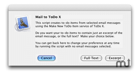 Screenshot 1 for Mail to ToDo X