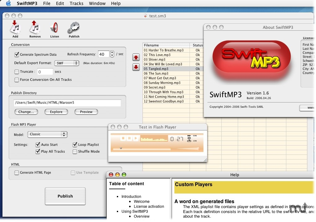 Screenshot 1 for SwiftMP3