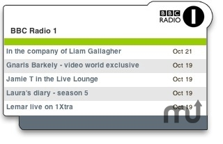 Screenshot 1 for BBC Radio 1