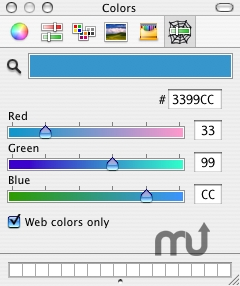 Screenshot 1 for RCWebColorPicker