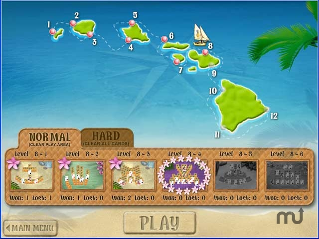 Screenshot 1 for Aloha Solitaire