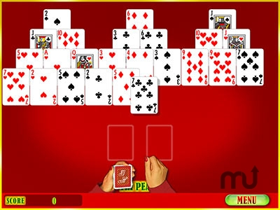 Screenshot 1 for Super GameHouse Solitaire