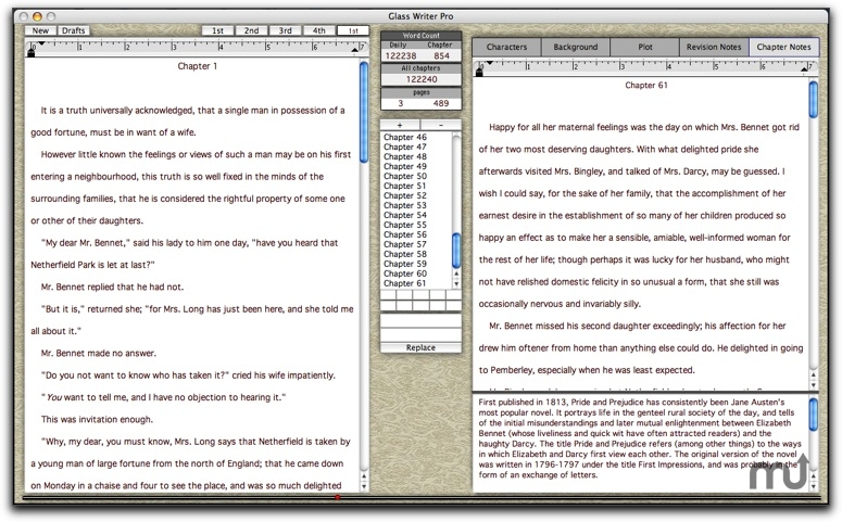 Screenshot 1 for Glass Writer Pro