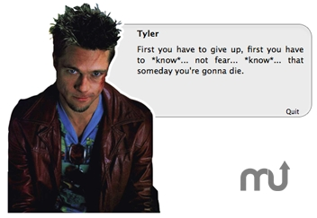 Screenshot 1 for 10 Seconds With Tyler Durden