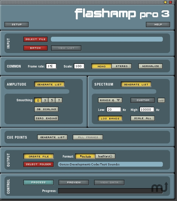 Screenshot 1 for FlashAmp Pro