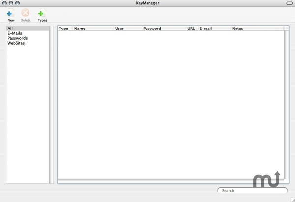 Screenshot 1 for KeyManager