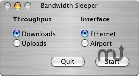 Screenshot 1 for Bandwidth Sleeper