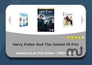Screenshot 1 for UK DVD Rentals Widget