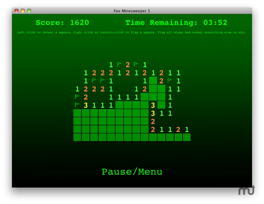 Screenshot 1 for Fox Minesweeper