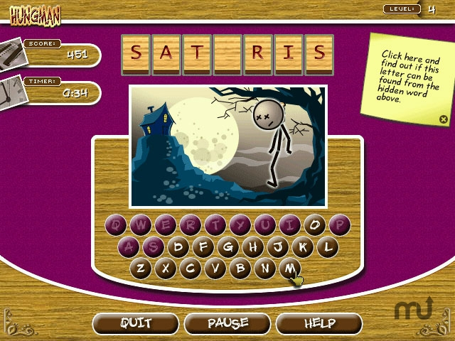 Screenshot 1 for Word Challenge Extreme