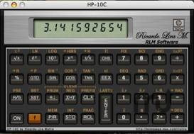 Screenshot 1 for HP 10c Calculator