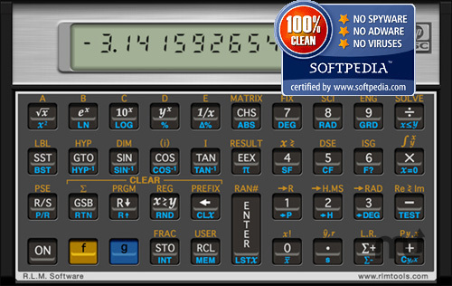 Screenshot 1 for HP 15c Calculator