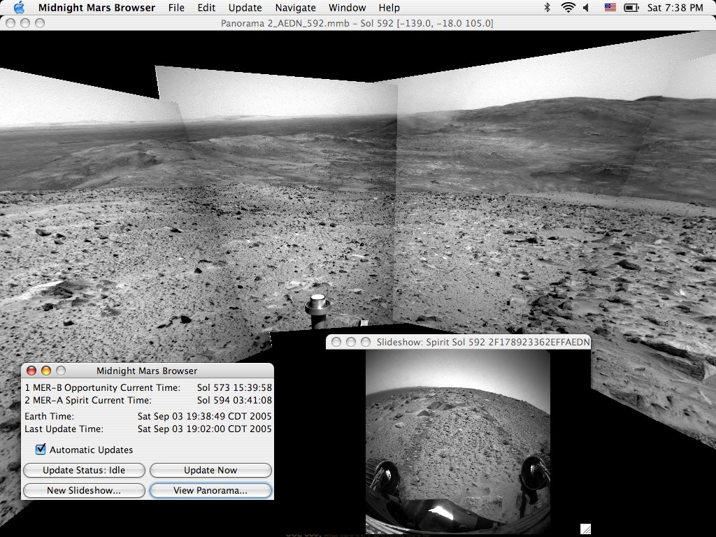 Screenshot 1 for Midnight Mars Browser