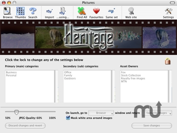 Screenshot 1 for Heritage Image Asset Management System