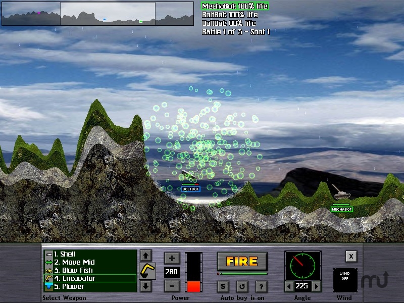 Screenshot 1 for Atomic Cannon