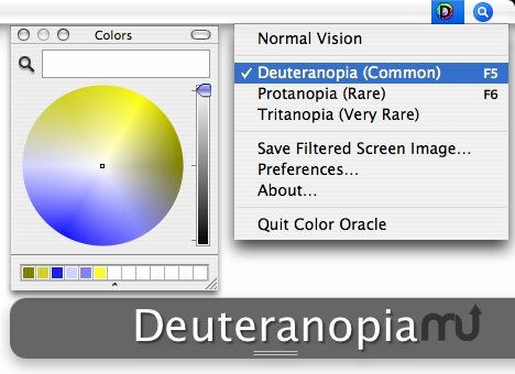 Screenshot 1 for Color Oracle