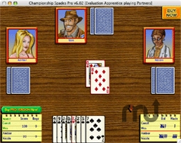 Screenshot 1 for Championship Spades Pro