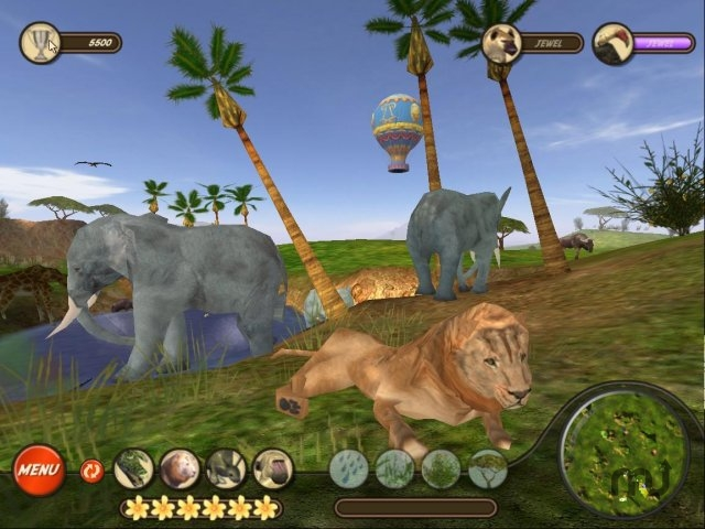 Screenshot 1 for Wildlife Tycoon: Venture Africa