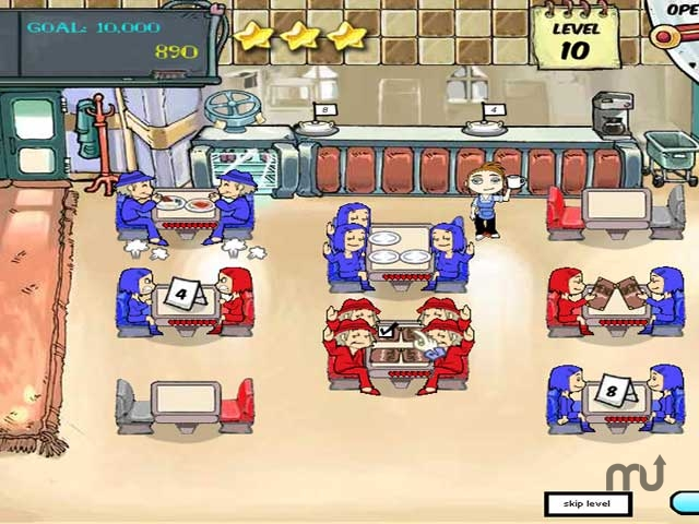 Screenshot 1 for Diner Dash