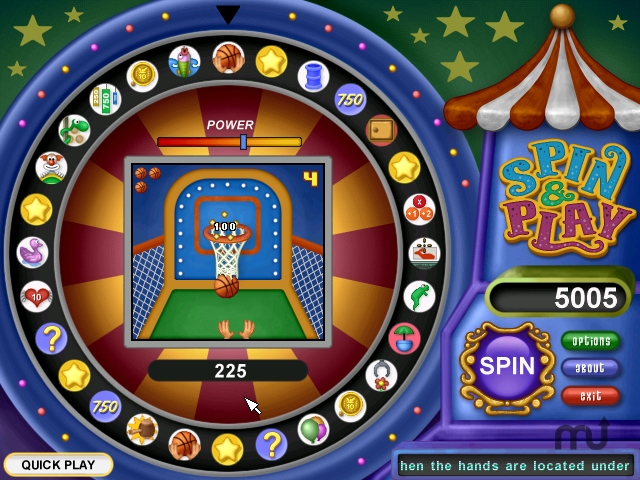 Screenshot 1 for Spin & Play - Carnival Madness
