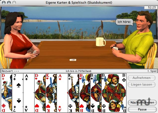 Screenshot 1 for Rasche's Kartenspiele