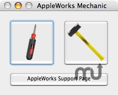 Screenshot 1 for AppleWorks Mechanic