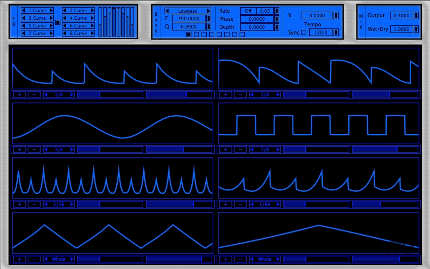 Screenshot 1 for F8-V2 Audio Unit