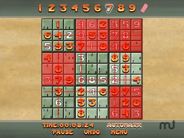 Screenshot 1 for Totally Sweet Sudoku