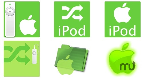 Screenshot 1 for iPod shuffle Icons