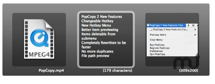 Screenshot 1 for PopCopy