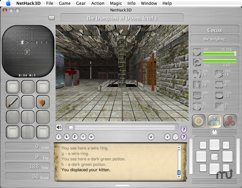 Screenshot 1 for NetHack3D