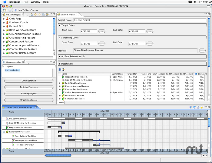Screenshot 1 for xProcess