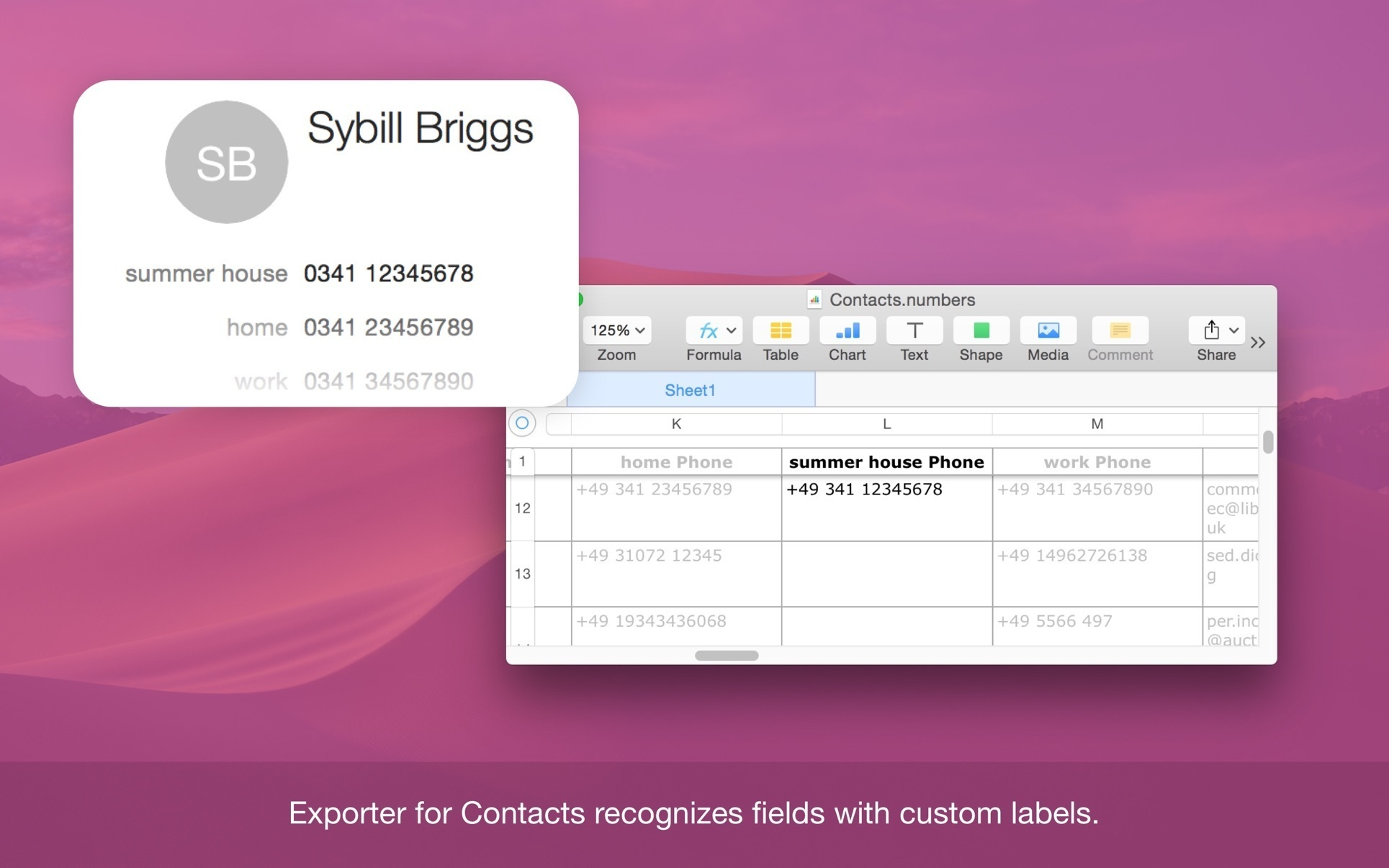 Exporter for address book 1.3 download free