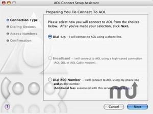 Screenshot 1 for AOL Connect