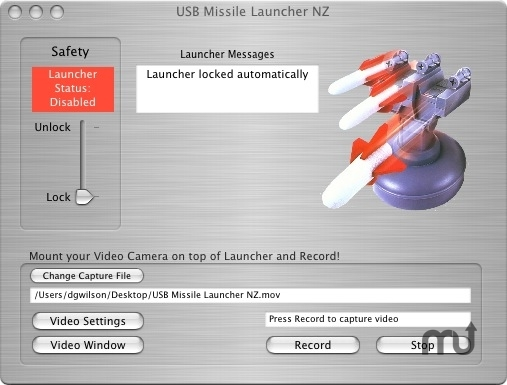 Screenshot 1 for USB Missile Launcher NZ